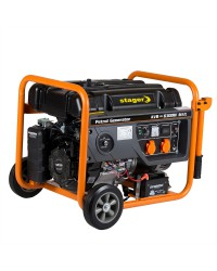 Generator open frame benzina Stager GG 7300-EBW