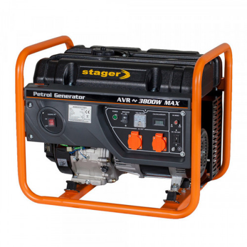 Generator open frame benzina Stager GG 4600