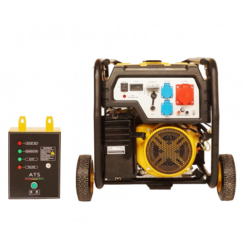 Generator open frame Stager FD 10000E3+ATS