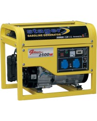 Generator open frame benzina Stager GG7500-3E+B - Alternative Pure Energy